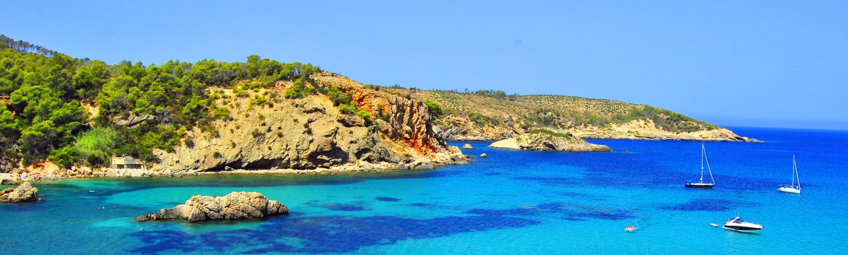 Formentera - wyspa na Balearach
