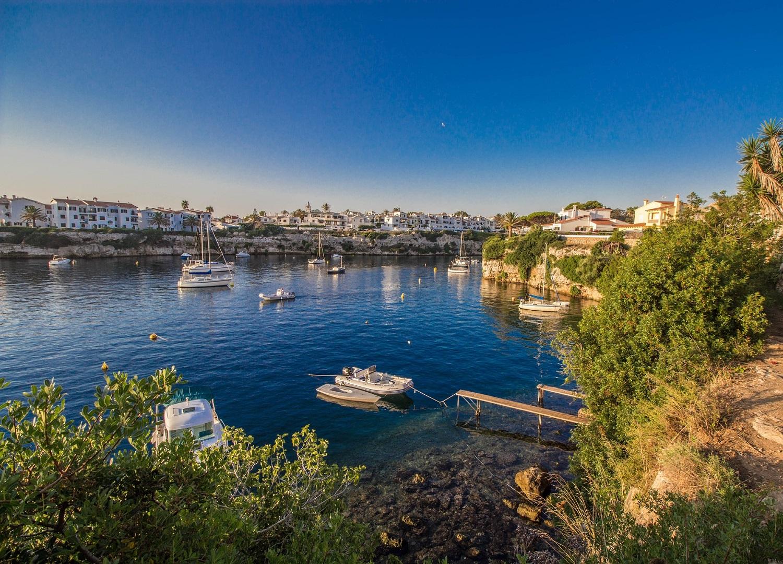 Krajobraz na Wyspie Minorce
